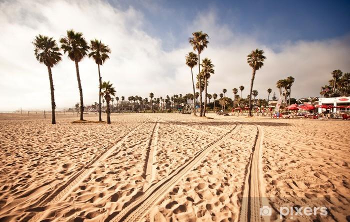 Santa Monica Beach, California, USA Pixerstick Sticker - Themes