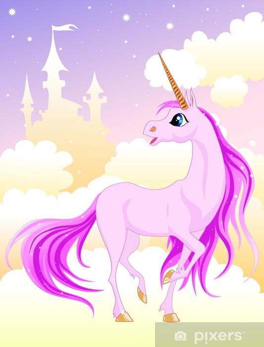 Pink Unicorn Bord og skrivbordfiner -