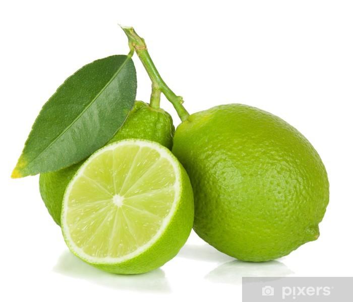 Vinyl Fotobehang Limoen - Vruchten