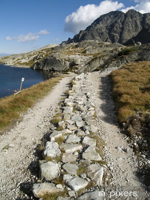 Naklejka Pixerstick Mała górska ścieżka - Tematy