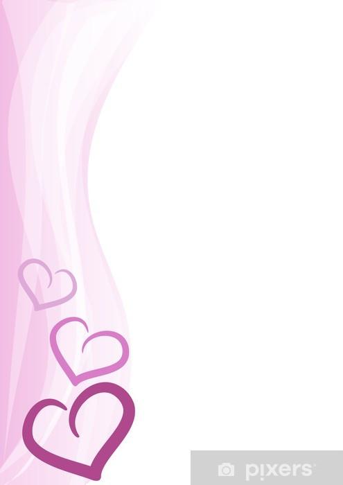 Sfondo Verticale Cuoricini Rosa Wall Mural Pixers We Live To Change
