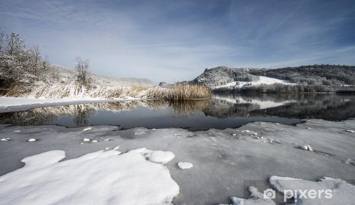 Naklejka Pixerstick Vallée de Joux, Szwajcaria - Europa