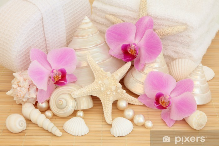 Zelfklevend Fotobehang Luxe Spa -