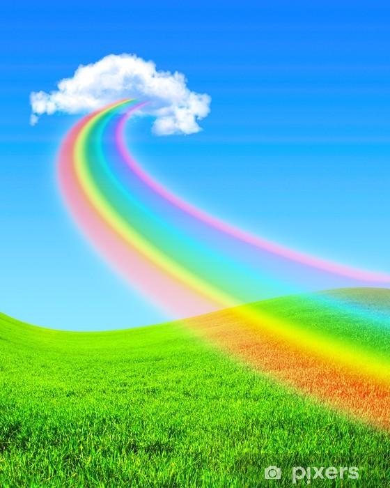 Vinyl Fotobehang Rainbow - Regenbogen