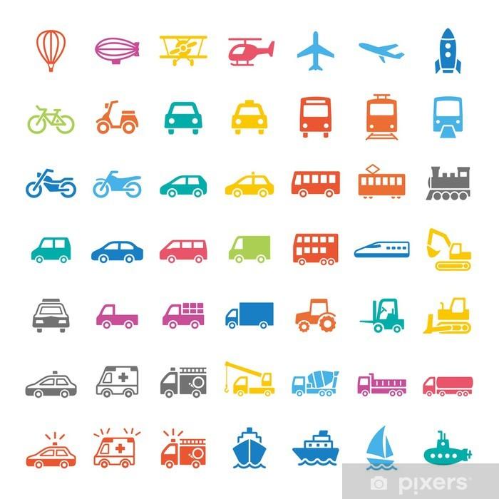 ピクトグラム Pixerstick Sticker - Destinations