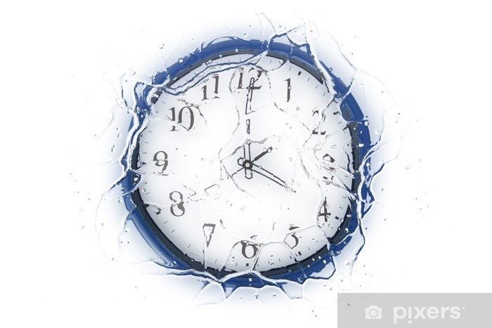 Sticker Pixerstick Frozen Time («série Frozen ') - Electronique