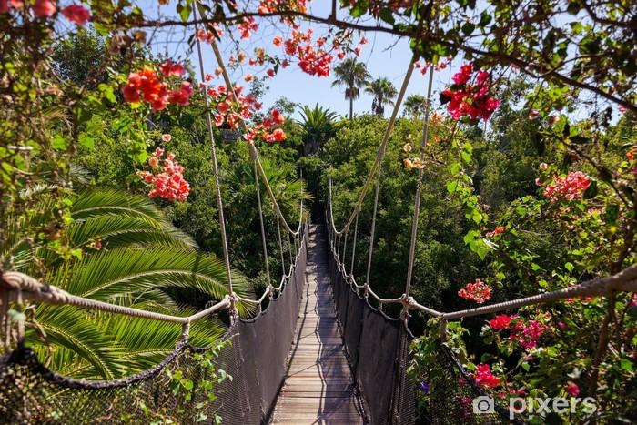 Fotomural Estándar Sendero en la selva - Canarias Tenerife - Vacaciones