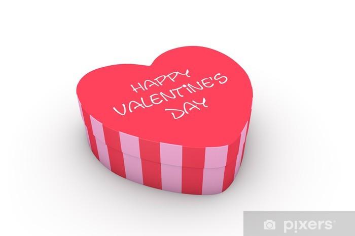 Fototapeta Valentýn krabice ve tvaru srdce • Pixers® • Žijeme pro změnu 40324a978b7