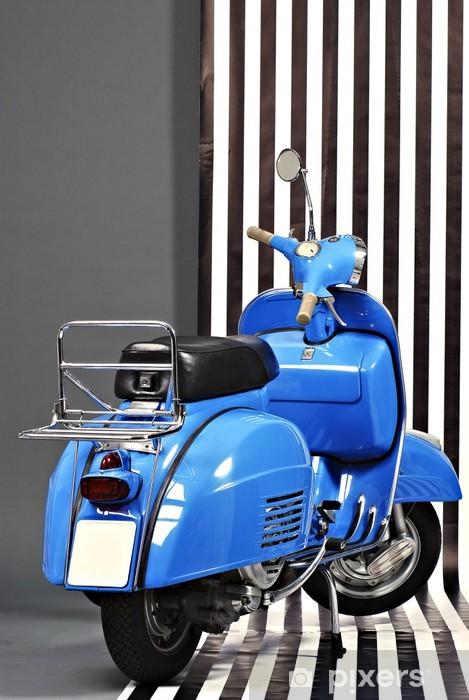 Aufkleber Klassische Italienische Roller Pixerstick