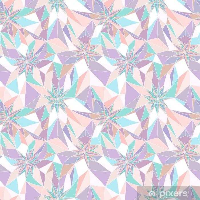 Naklejka Pixerstick Powtarzalny abstrakcyjny wzór geometryczny - Tematy