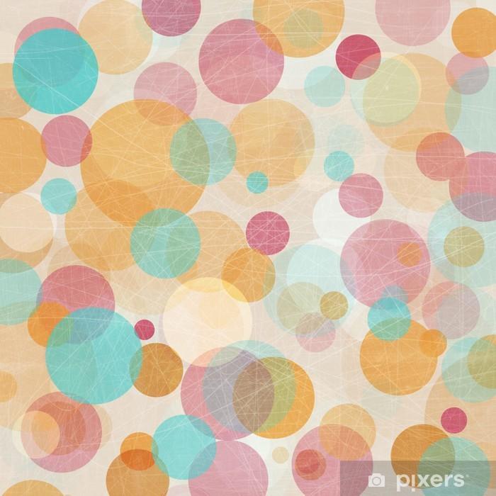 Plakát Light Colored Růžová - Modrá - Oranžová abstraktní světla na pozadí - Národní svátky