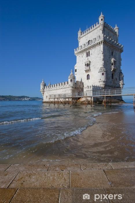 Vinyl-Fototapete Turm von Belem, Lissabon, Portugal - Europäische Städte