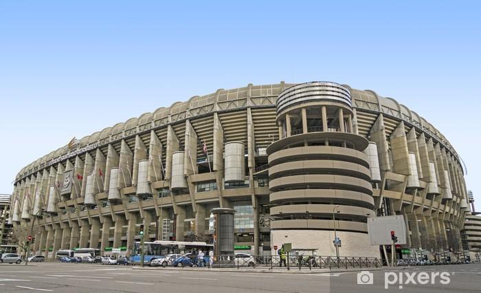 Fototapeta winylowa Stadion Santiago Bernabeu - Miasta europejskie