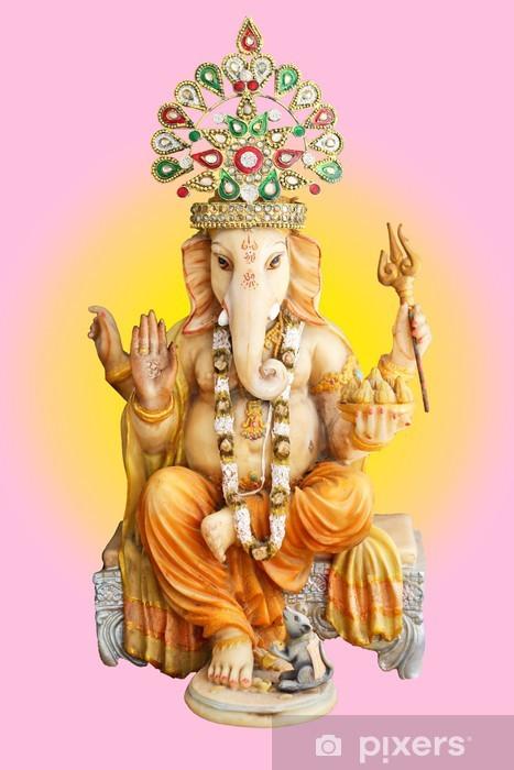 Hindu God Ganesha Vinyl Wall Mural - Asia