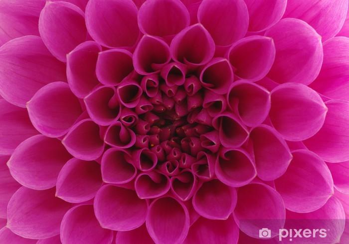 Abstract flower Pixerstick Sticker - Styles