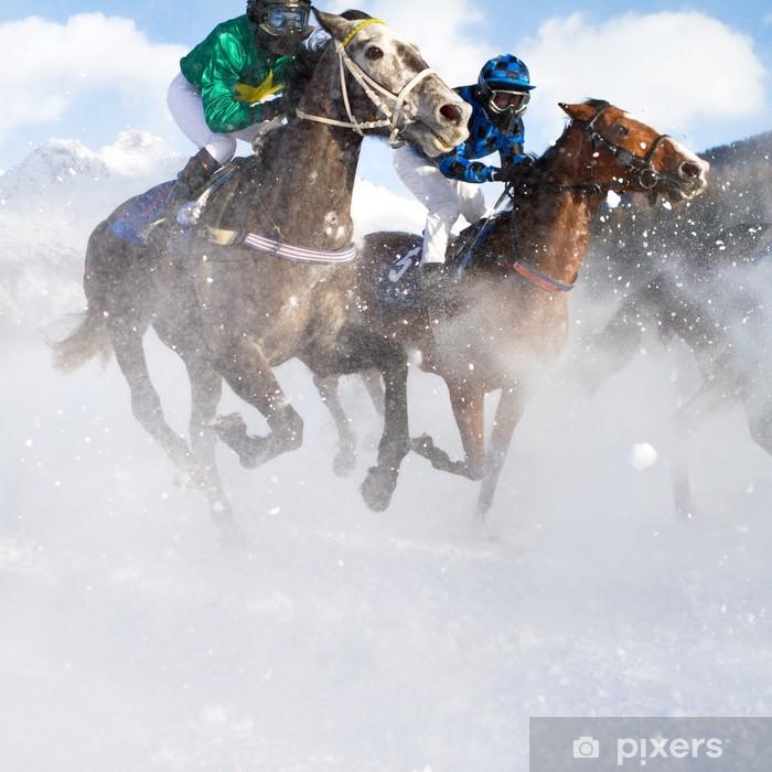 Mural de Parede em Vinil Horse Grand Prix - Temas