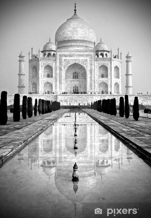 Taj Mahal, Agra, Uttar Pradesh, India. Vinyl Wall Mural - Asia