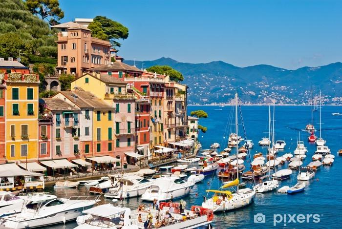 Fototapeta winylowa Portofino, Liguria, Włochy - Europa