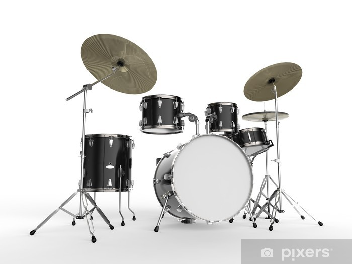Fototapeta winylowa Zestaw perkusyjny - Muzyka