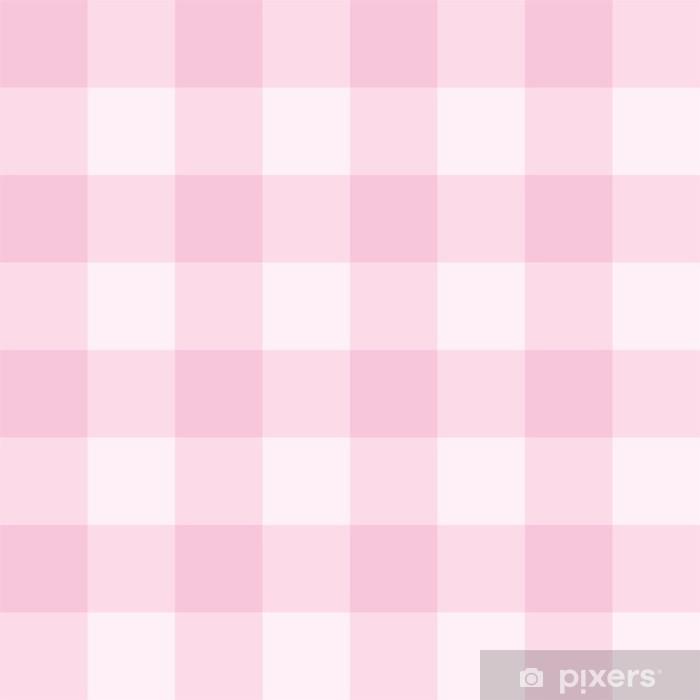 Carta Da Parati Seamless Sfondo Rosa Griglia Modello Vettoriale A