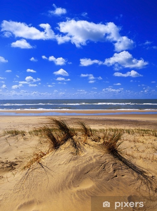 Naklejka Pixerstick Plaża - Europa