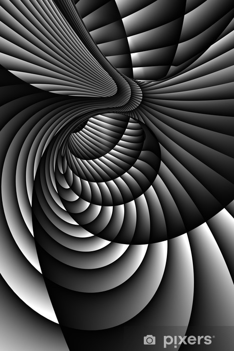 Fototapeta winylowa 3d streszczenie spirali -
