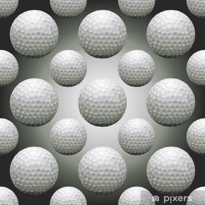 Papier peint vinyle Seamless Balles de golf - Arrière plans