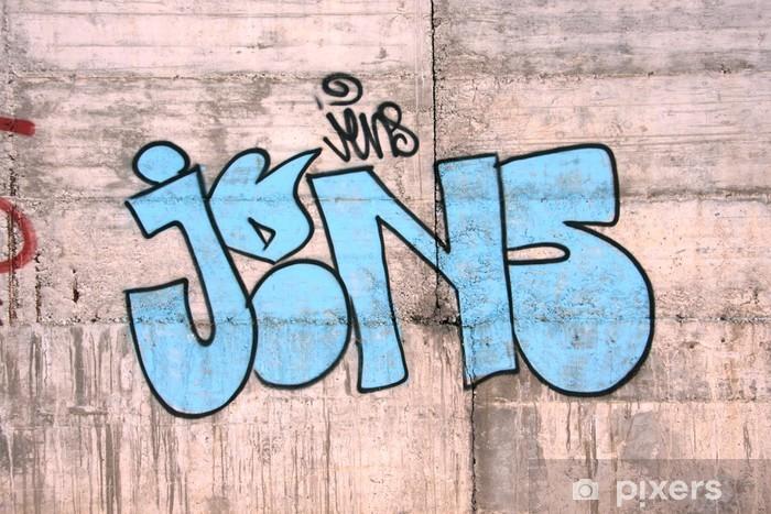 Fototapeta winylowa Graffiti30 - Inne