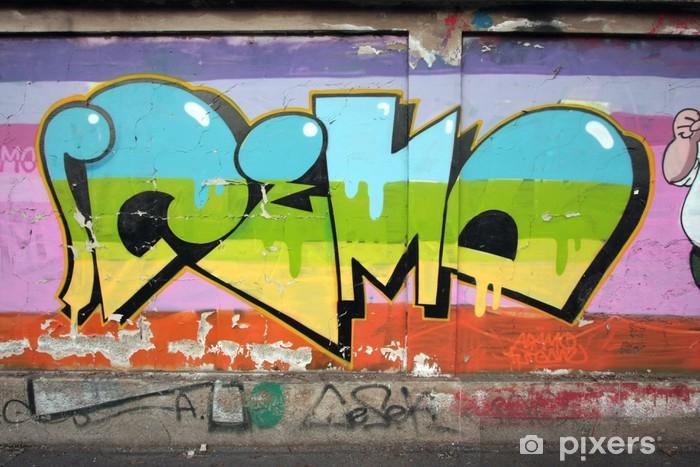 Fototapeta winylowa Graffiti59 - Inne