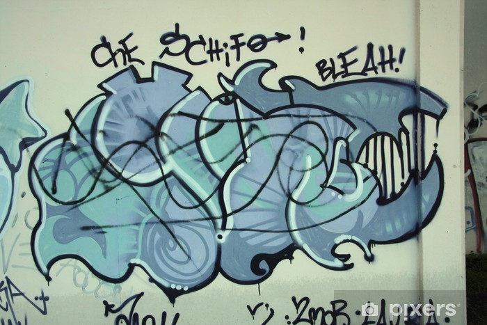 Sticker Pixerstick Graffiti73 - Autres