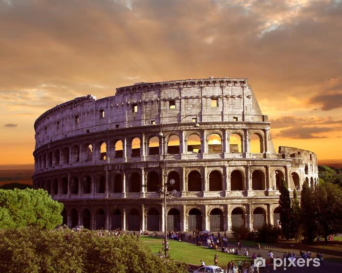 Vinilo Pixerstick Coliseo en Roma Italia - Italia