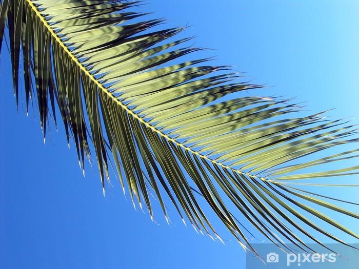 Carta da Parati in Vinile Palma - Vacanze