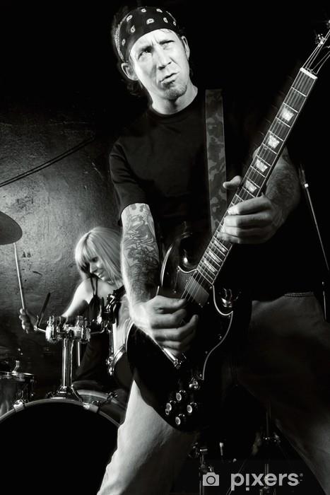 Rock and roll Pixerstick Sticker - Entertainment