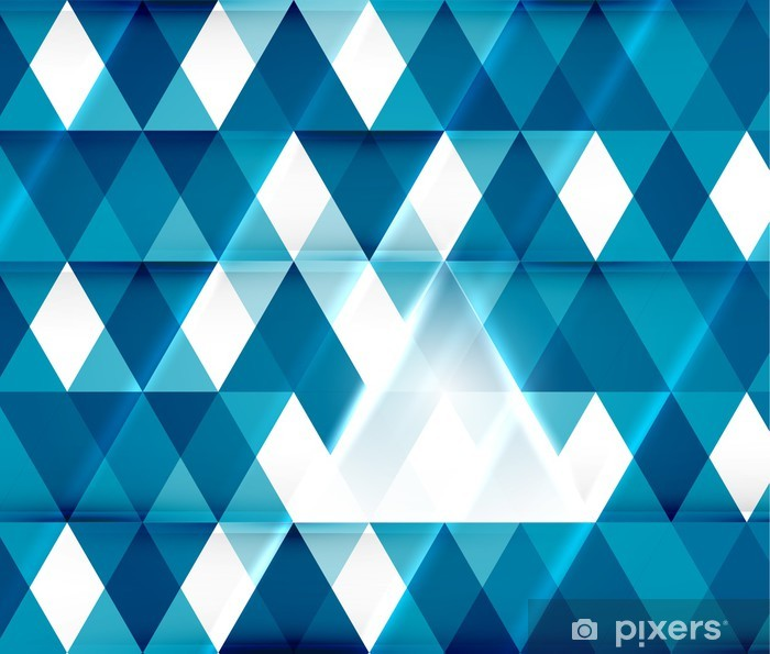 Modern geometric abstract background template Vinyl Wall Mural - Business Situations