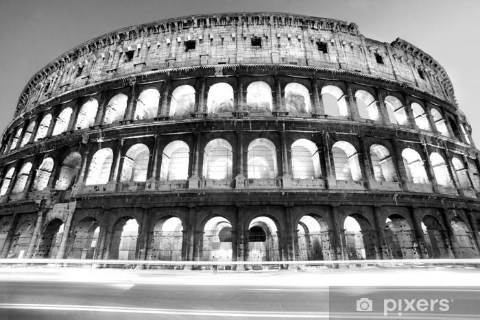 Fototapeta winylowa Majestatyczny Koloseum, Rzym, Włochy. - Tematy
