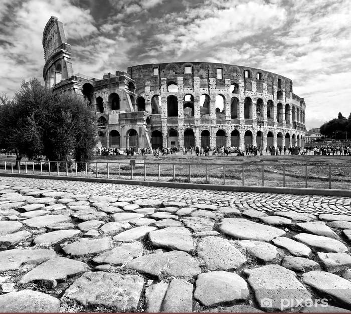 Fototapeta winylowa Majestatyczny Koloseum, Rzym, Włochy. - Włochy