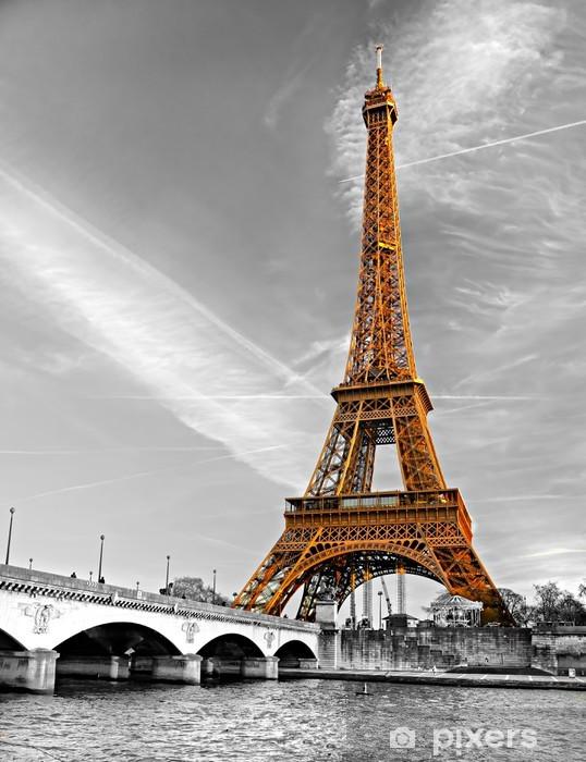 Sticker Pixerstick La tour eiffel de paris -