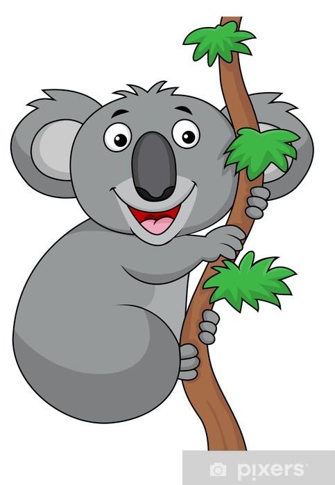 Sticker Dessin Anime Koala Pixers Nous Vivons Pour Changer