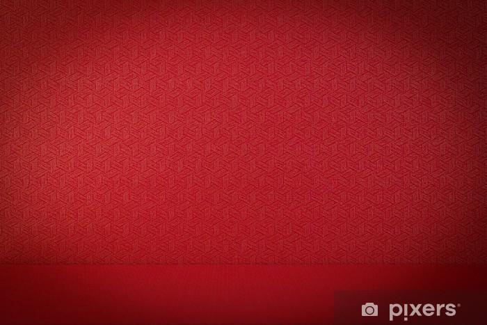 Papier peint vinyle Fond rouge de la texture du papier - Réussite