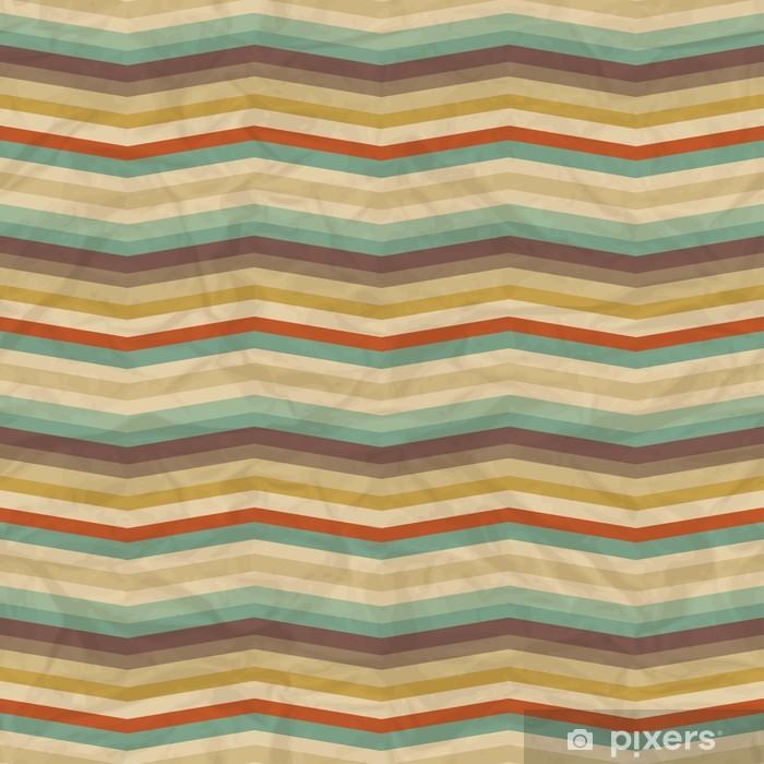Poster Seamless retro geometrischen Muster - Stile