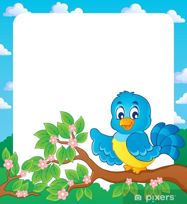 Naklejka Pixerstick Frame theme Bird 2 - Ptaki