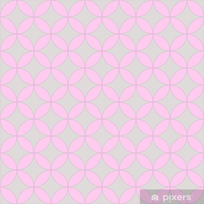 Abstrakt geometrisk kunstnerisk mønster Selvklæbende fototapet - Abstrakt