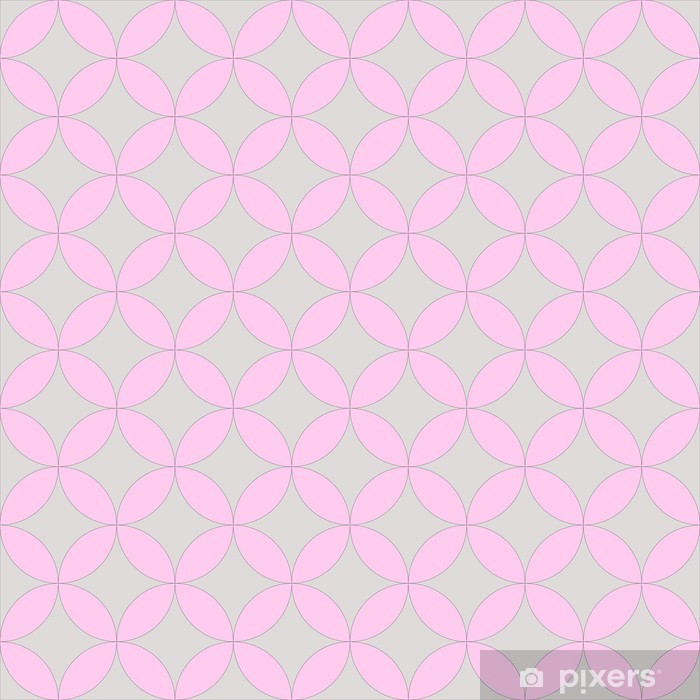 abstract geometric artistic pattern Vinyl Wall Mural - Abstract