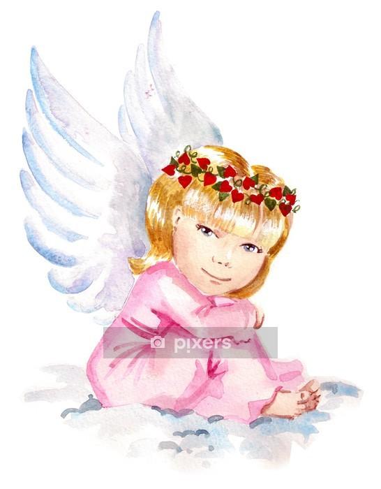 Naklejka na ścianę Anioł - Naklejki na ścianę