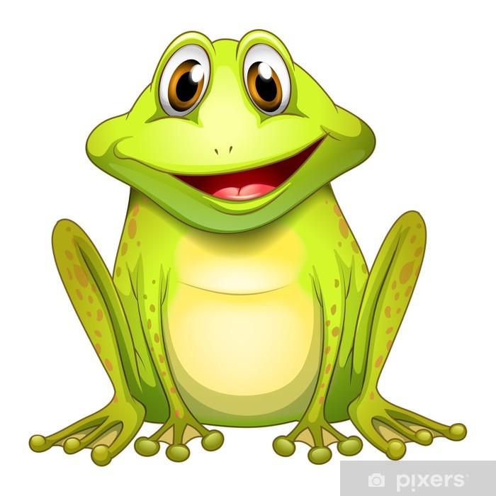 Papier peint Une grenouille de sourire • Pixers® - Nous vivons ...