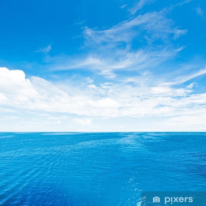 Vinil Duvar Resmi Gökyüzü ve deniz - Su