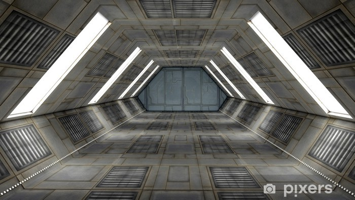 Futuristic Interior Scifi Science Fiction Wall Mural Pixers 174 We Live To Change