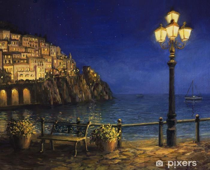Fototapeta winylowa Letni Wieczór w Amalfi - Tematy