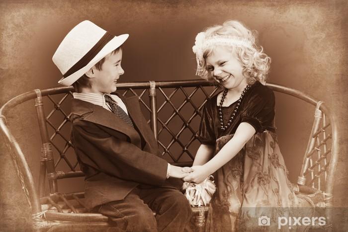 Pixerstick Dekor Lady och gentleman - Par