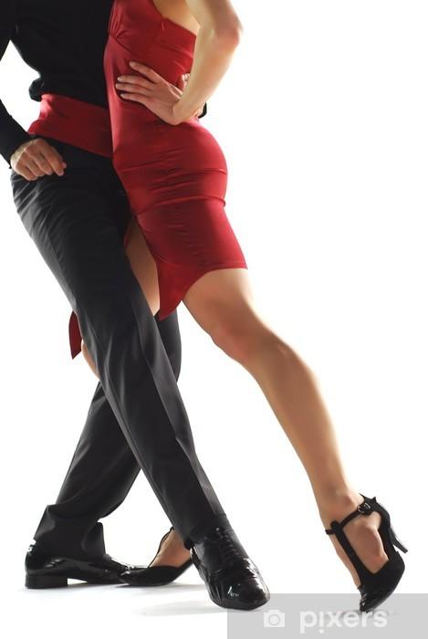 Papier peint vinyle Elegnace danseurs de tango - Thèmes